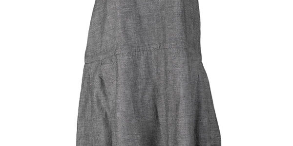 1930's french grey linen work dresses