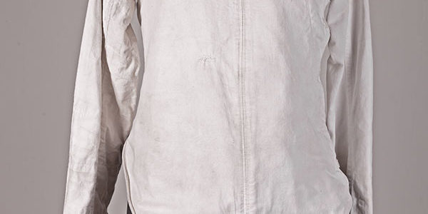 1930's french linen fencing jacket