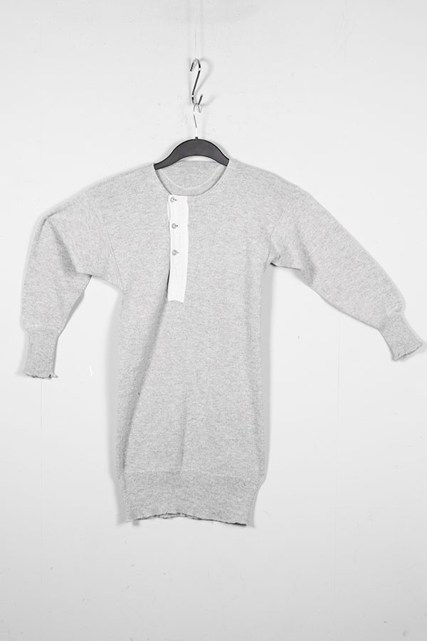 1930's french wool henley, lemagasin, le magasin