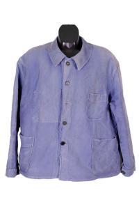 Veste de travail en moleskine bleue Franceannées 30, Le Magasin, lemagasin