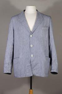 1950's french butcher sack coat, Le Magasin, lemagasin, vintageclothing