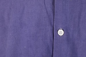 1940's french indigo linen work shirt, lemagasin, le magasin