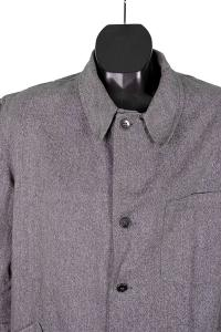 1950's deadstock linen chambray atelier coat, Le Magasin