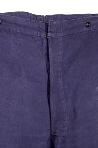 1930's french indigo linen work pants, Le Magasin, lemagasin, l'oiseau rare
