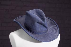 1970's Levi Strauss denim cowboy hat