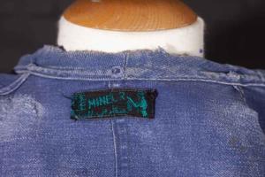 1950's Le Mineur french moleskin chore jacket