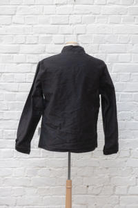 1960's french black moleskin jackets