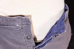 1950's french lined moleskin work pants