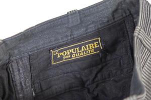 1950's Le Populaire french pique work pants, lemagasin, le magasin