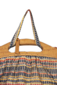 1930's french fabric & wood  ladies handbag, lemagasin, le magasin, vintage clothing, frenchvintage, frenchworkwear, frenchantique, french workwear, vintage bag