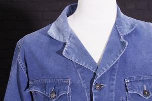 "1940's Le Ramier ""cyclist"" cotton work jackets"