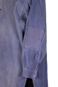 1930's french indigo linen work smock/ shirt, lemagasin, le magasin