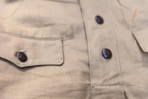1950's deadstock linen army shirt