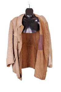 1930's french cotton & linen hunting jacket