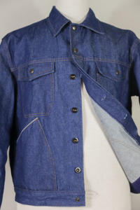 1960's belgian denim work jacket, vintagedenim, lemagasin, le magasin