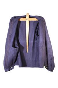 1930's belgian miner indigo linen chore jackets