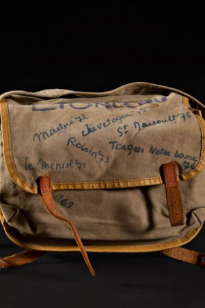60's belgian boy scout satchel