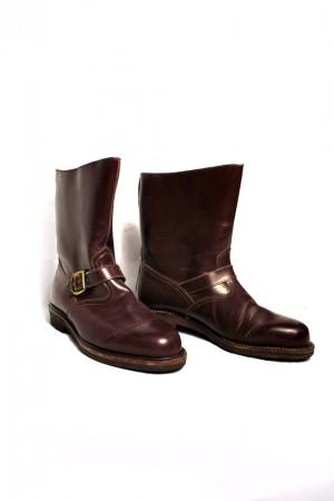 60's lightweight british engineer boots