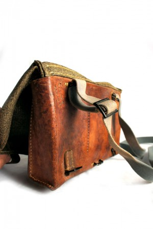 50's Swiss Army shoulder bag