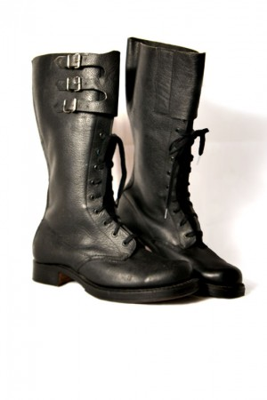 50's motorcycle boots