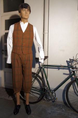 1940's tweed knickers & vest
