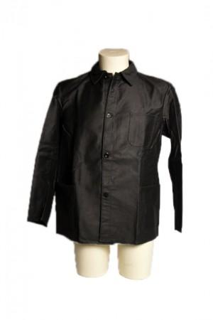 1930's Dury black moleskin work jacket