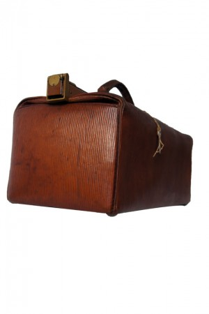 1920's leather doctor's bag