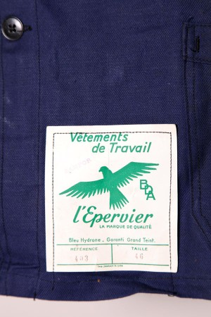"1950's L'Epervier ""bleu"" jacket"