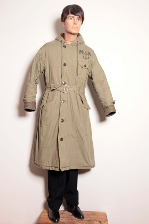 1960's french Marine Nationale long coat