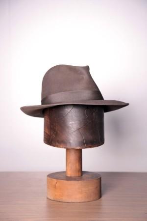 1950's Borsalino Fedora hat