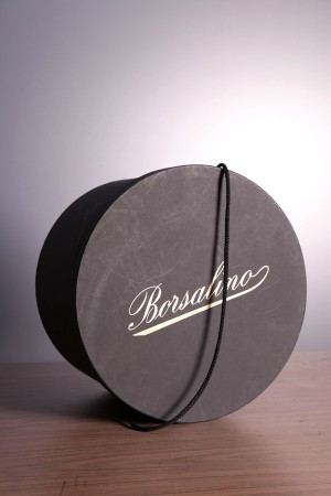 1960's Borsalino hat box
