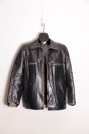 1950's french leather jacket