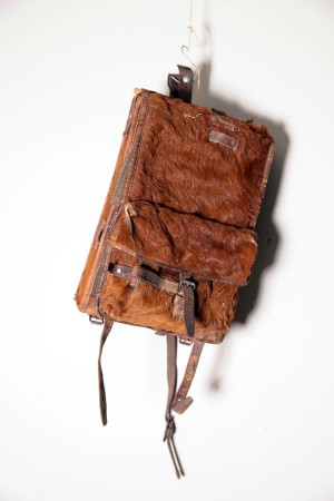 1941 Swiss army cowhide backpack
