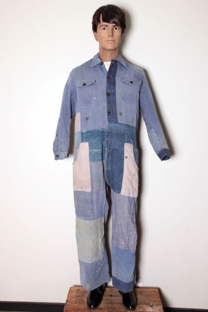 1950's patched coverall
