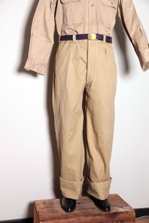 1950's french chino pants
