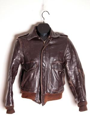 1970's Schott A-2 leather jacket