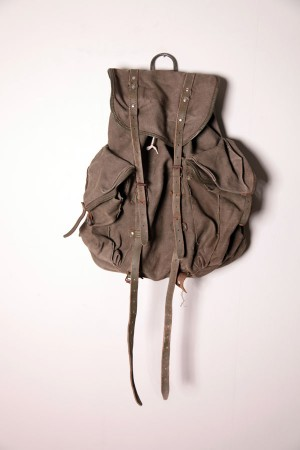 1960's french army backpack