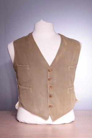 1920's gamekeeper vest