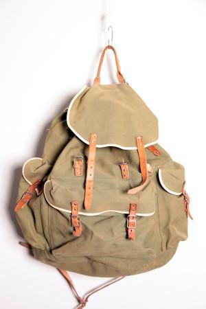 1960's deadstock green backpack