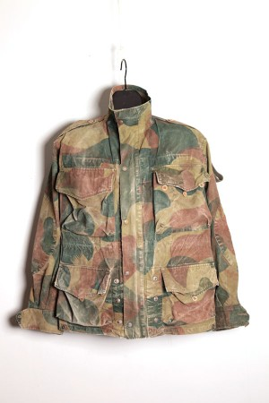 1956 Belgian army camo jacket