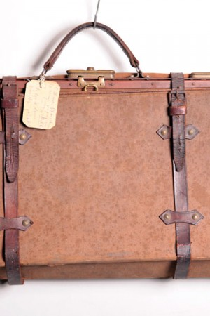 1920's canvas doctor bag