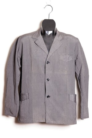 1930's striped work jacket