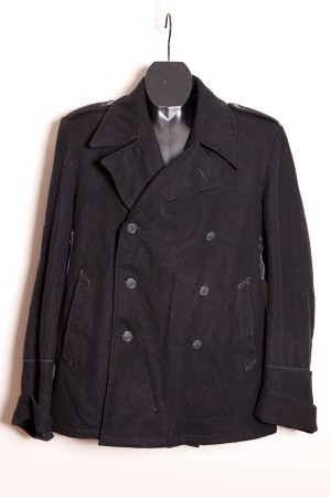 1960's Swiss Army peacoat