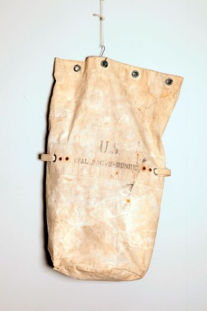 WWII US coal bag