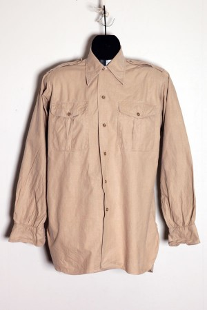 1950's french chino shirt