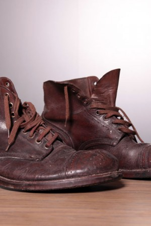 WWII US Service shoes