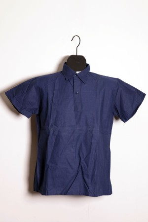 1950's blue work shirt