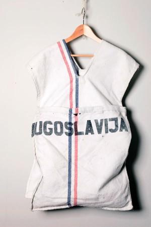 1960's Yugoslavian mail bag