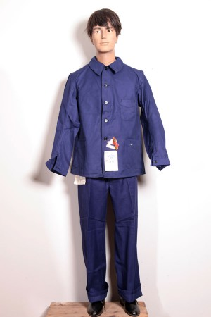 1950's french work jacket+pants