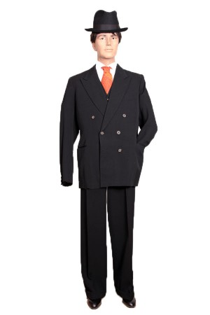 1930's double breasted suit